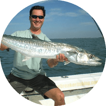 catching kingfish in Ft. Lauderdale