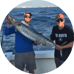 Catch wahoo with YB Normal Sports Fishing