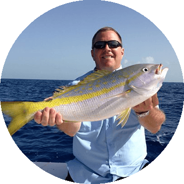 Catching Yellowtail in South Florida with YB Normal Fishing Charters